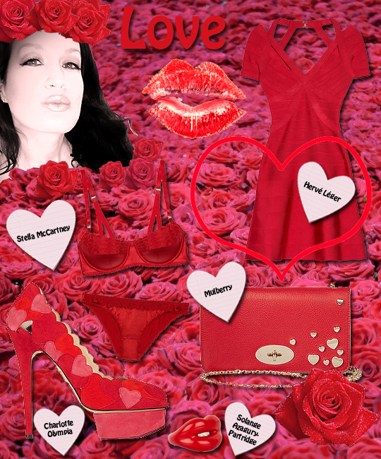 Get styled for Valentine's Day blog post