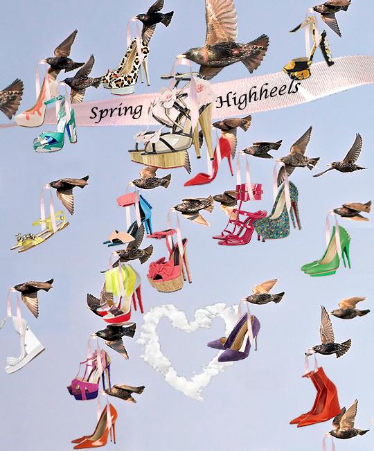 Highheels like a Flight back to Spring blog post