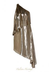 Gold-1-Halston-Heritage-lame-dress